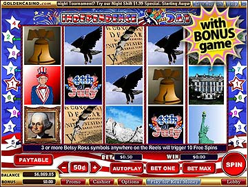 Golden Casino Independence Day Slot