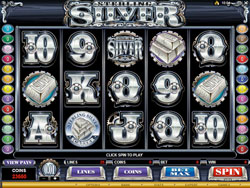 Sterling Silver Slot