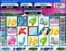 Penguin Power Slot Bonus game