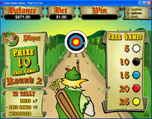 Prince of Sherwood Slot Bonus game